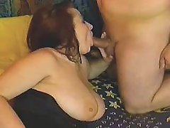 This fatty knows how to handle cock