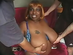 Obese ebony mom shows off her body bbw porn