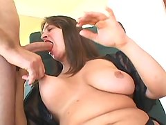 Appetizing plump beauty makes love bbw porn