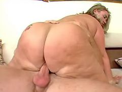 Flabby mature dances on hard dick bbw porn